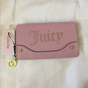 Juicy Couture Desert lights wallet in Blush NWT